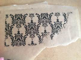 Demo of Damask print